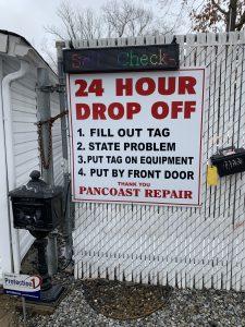 Self Check-in Station-Pancoast Repair