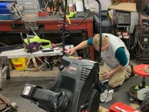 Snow Blower Maintenance & Repair